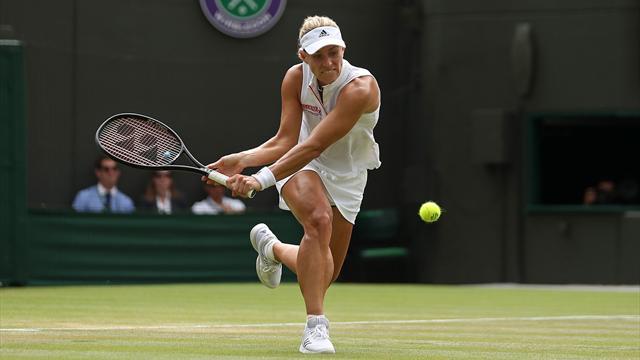Wimbledon im Liveticker: Kerber schlägt zum Halbfinale gegen Ostapenko auf