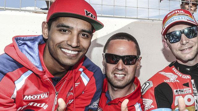 Yonny Hernández returns to Honda Endurance Racing