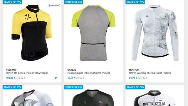 Top-Angebote für Radsport-Fans im Eurosport-Shop: Jetzt bis 30% günstiger