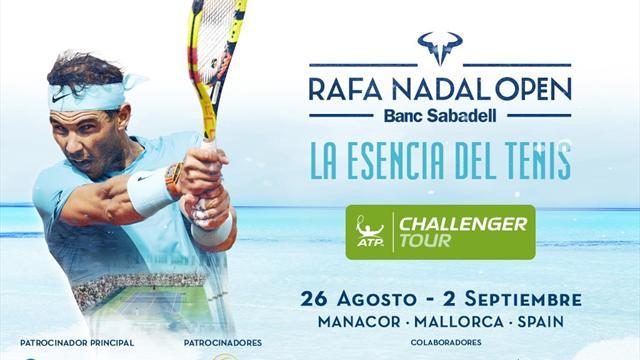 Rafa Nadal dará nombre a un nuevo torneo ATP Challenger