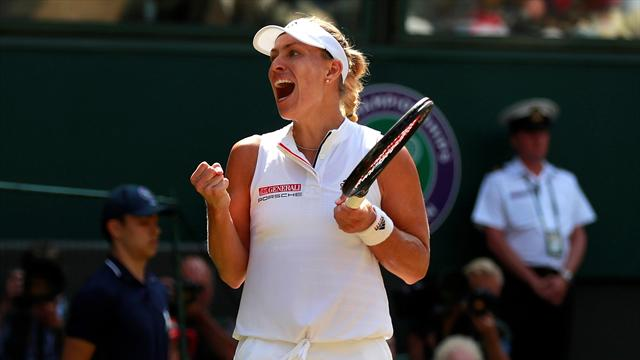 Kerber storms past Ostapenko to reach Wimbledon final