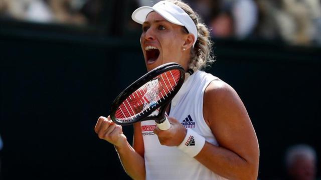 Kerber frena a Ostapenko y disputará su segunda final en Wimbledon