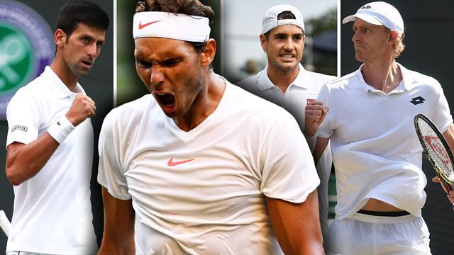 Order of Play, Day 11: Nadal v Djokovic on men's semi-finals day