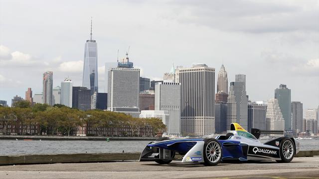 Формула Е завършва с два старта в Ню Йорк