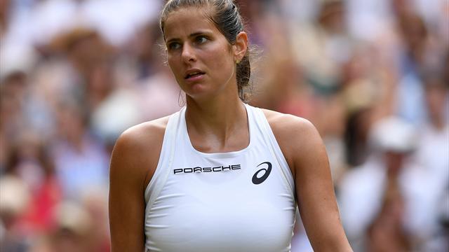 Görges unterliegt Serena Williams - kein deutsches Finale in Wimbledon
