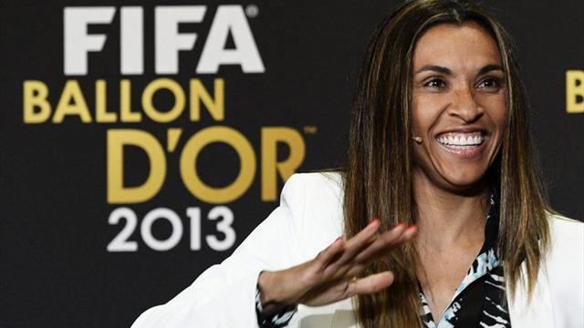 La brasileña Marta, nueva embajadora de ONU Mujeres