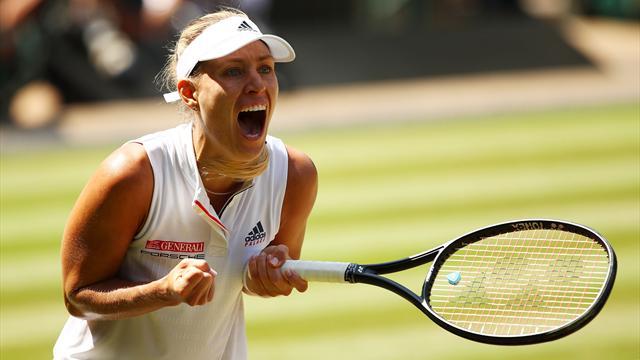 Kerber greift nach dem Wimbledon-Titel