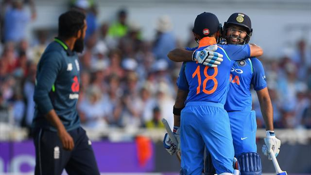Kuldeep takes six England wickets as India win opening ODI