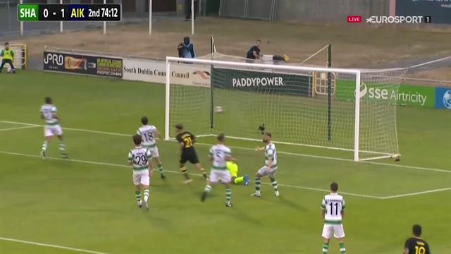 Höjdpunkter: Fördel AIK efter 1-0-seger i Dublin