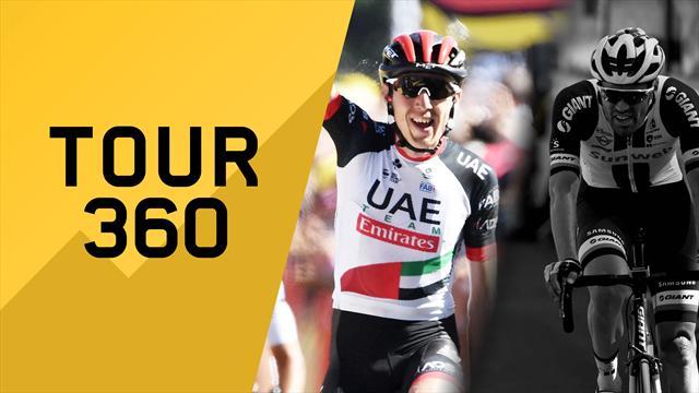 """""""Tour 360"""": Martin brilla, Dumoulin fora! Tutto il meglio e il dietro le quinte della 6a tappa"""