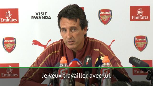 "Emery : ""Je veux travailler avec Ramsey"""