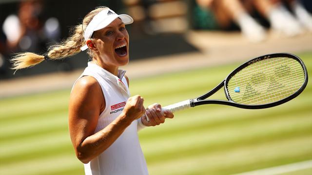 Deux petits sets, une heure de jeu, une patte gauche affûtée : Kerber a étouffé Serena