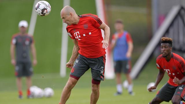 FC Bayern: Robben schon im Vollgasmodus - doch einer fehlt beim Training