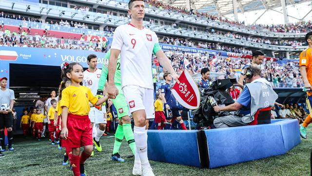 Einlaufkind Felix einziger deutscher WM-Finalist