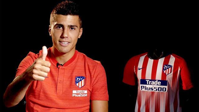 """Rodri: """"Volver al Atlético es un paso grande en mi carrera"""""""