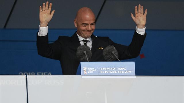 """FIFA: Infantino """"sehr zufrieden"""" mit Videobeweis"""