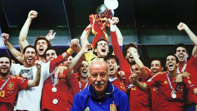"""Del Bosque: """"España tiene buenos entrenadores y Luis Enrique es uno de ellos"""""""