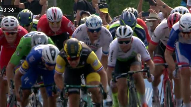 Groenewegen a fait l'extérieur pour dominer les sprinteurs: revivez l'arrivée de la 7e étape