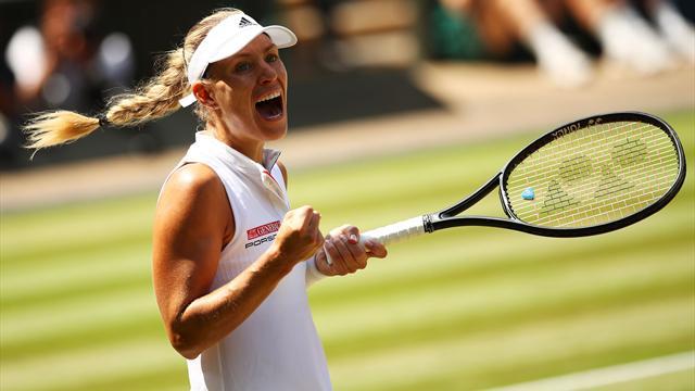 Angelique Kerber rekent af met Serena Williams en wint Wimbledon 2018