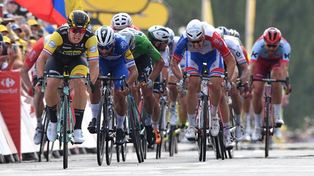 Tour'un en uzun etabında zafer Groenewegen'in