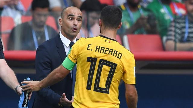Belgien-Coach Martinez traut Hazard Real zu