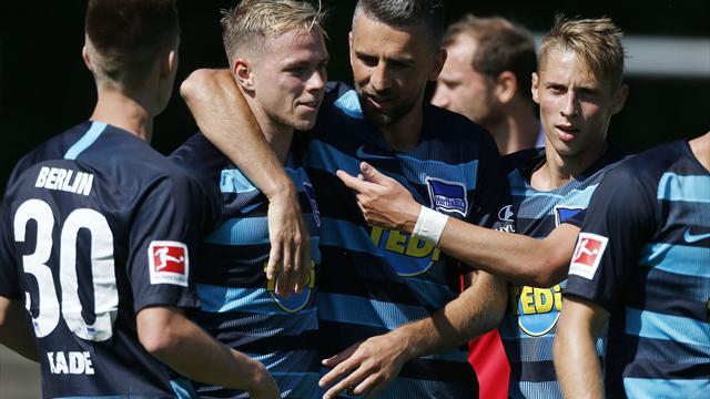 Hertha gewinnt Test gegen Dukla Prag