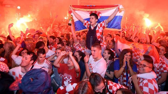 Фанаты сборной Хорватии скандировали «Слава Украине!» на полуфинале с Англией