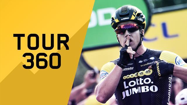 """""""Tour 360"""": Groenewegen, fagianate, come dove siamo? Il meglio e il dietro le quinte della 7a tappa"""