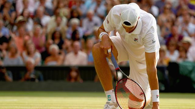 """Isner propose """"un tie-break à 12-12"""" au 5e set"""