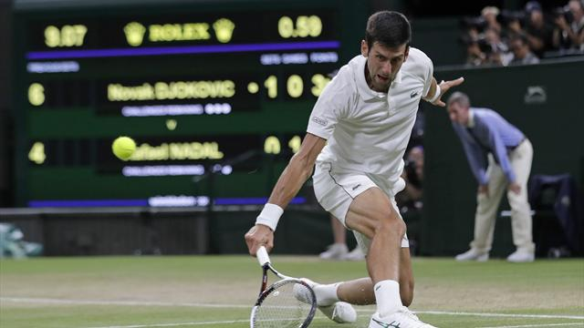 Wimbledon semi-final: Novak Djokovic v Rafael Nadal as it happened