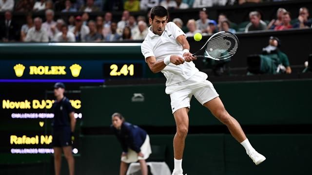Djokovic holds overnight lead against Nadal after marathon day of tennis