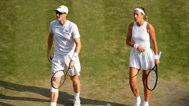 Murray seeks a piece of history in Wimbledon mixed doubles final