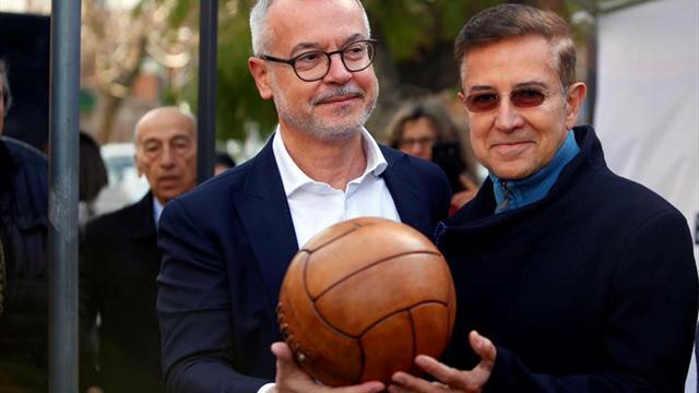 El embajador de Francia en Montevideo conmemora el primer gol del Mundial de 1930 en Uruguay