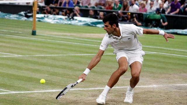 Djokovic se fue a dormir a un set de la final contra Anderson
