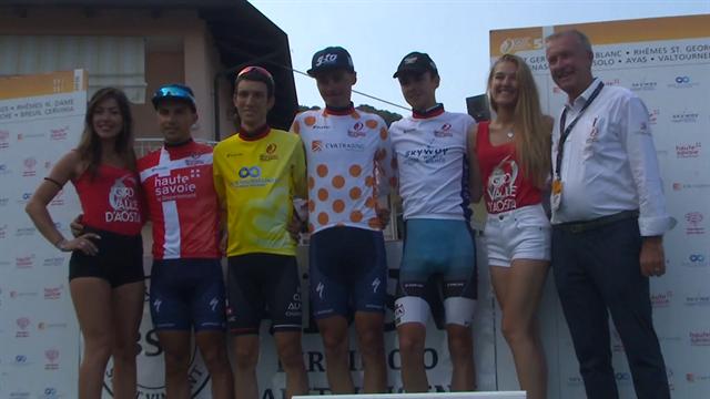 Giro della Valle d'Aosta: grande azione a Quassolo, 2a tappa a Mark Donovan