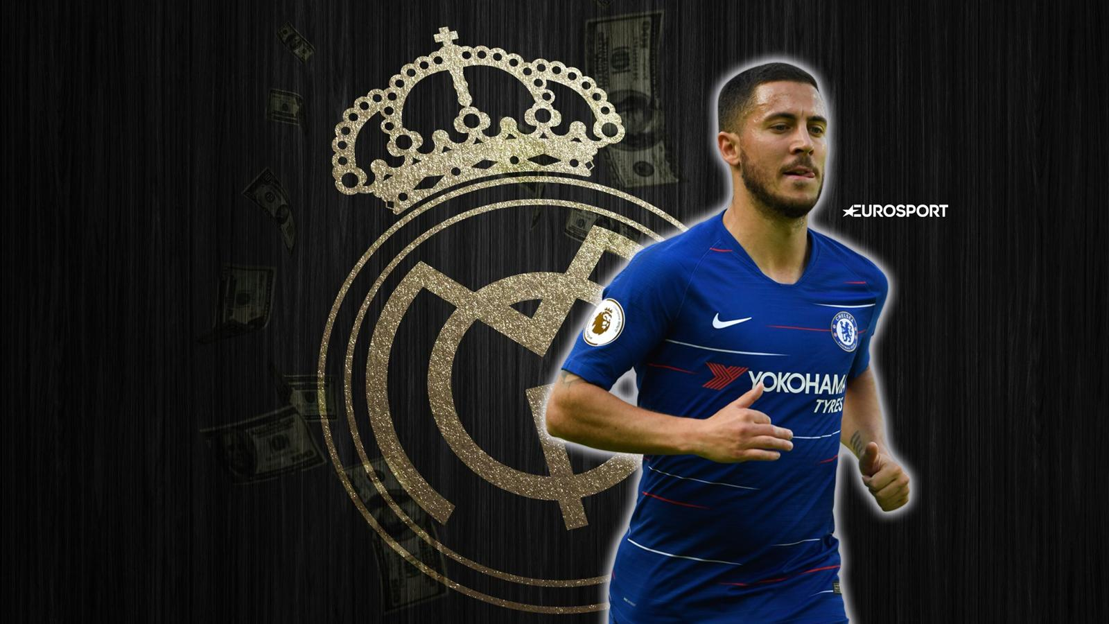 e0f8baf46f1 VIDEO - Euro Papers  Real Madrid to replace Cristiano Ronaldo with Hazard -  Transfers - Video Eurosport UK
