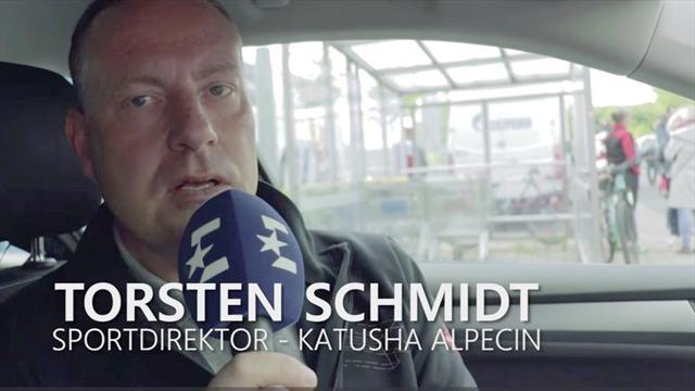 """""""Davor hat jeder Respekt"""": Inside Katusha mit Sportdirektor Schmidt"""