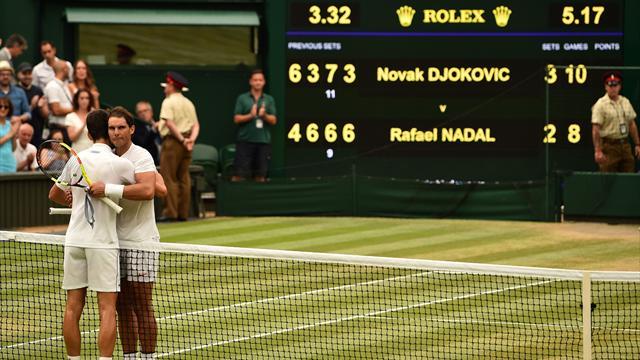 5 sets d'anthologie, 5h15 de combat : comment Djokovic a terrassé la bête Nadal