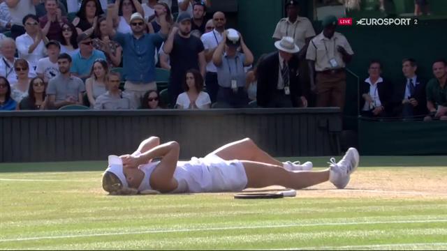 Här vinner Kerber sin första Wimbledon-titel