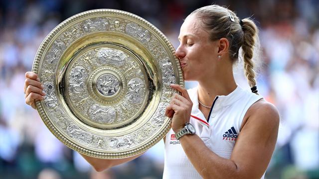 Höjdpunkter: Kerber fick revansch på Williams - tog första Wimbledon-titeln