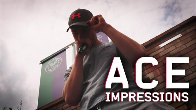Josh Berry's Ace Impressions: The Andy Murray Wimbledon rap!