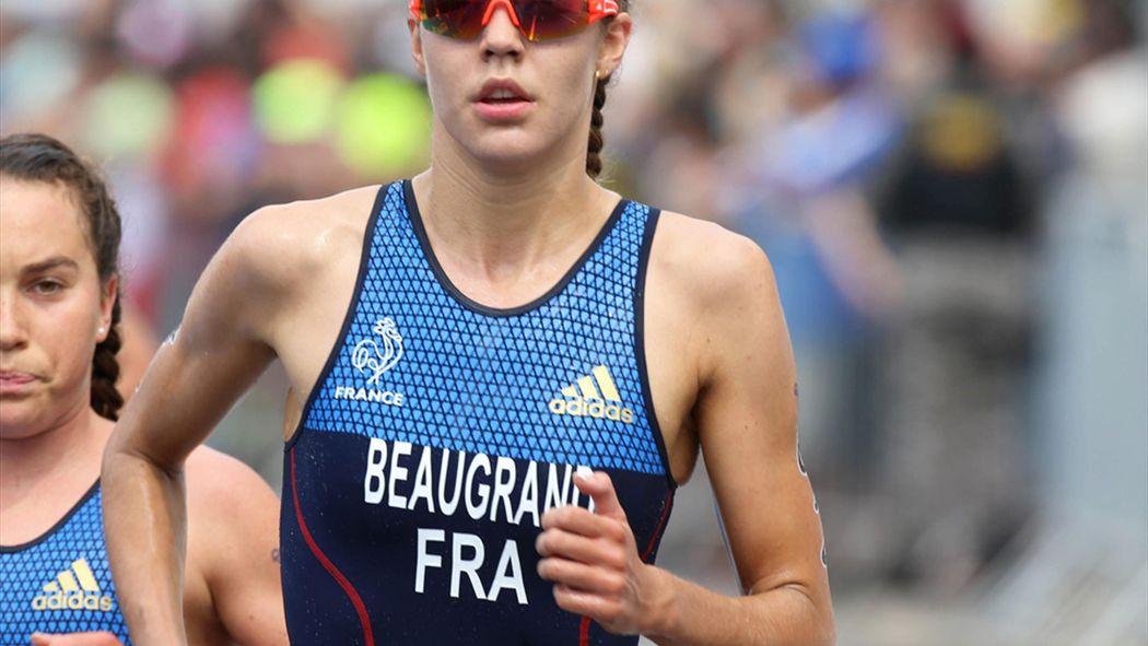 Triathlon Nur Französin Beaugrand Vor Lindemann Triathlon