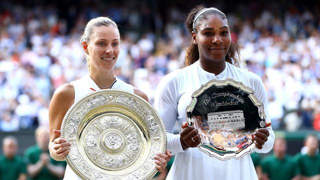 """Kerber : """"Sans l'année 2017, je n'aurais pas gagné Wimbledon"""""""
