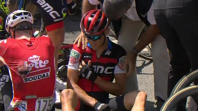 Massive crash forces Richie Porte to abandon Tour de France