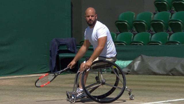 Stefan Olsson försvarade Wimbledon-titeln