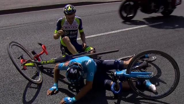Tour de Francia 2018 (Momentos 9ª etapa): Guerra de nervios, muchas caídas y Landa salvándose