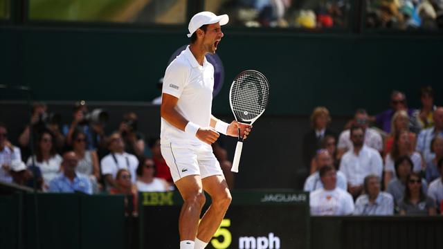 Djokovic conquista su cuarto título en Wimbledon tras superar a Anderson (2-6, 2-6 y 6-7 -3-)