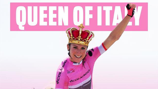 Annemiek van Vleuten wins final stage to secure Giro Rosa title