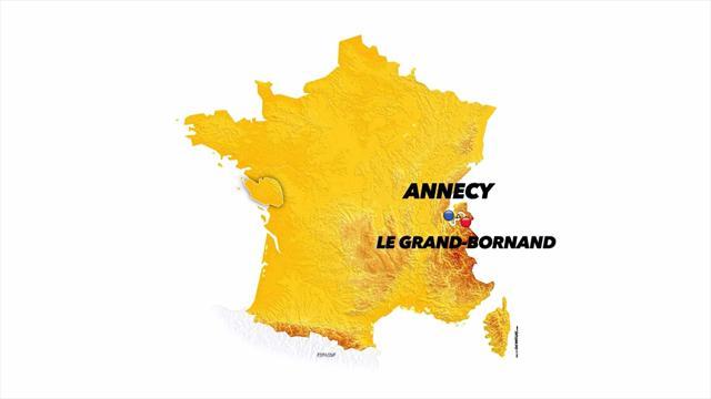 Tour de France: Stage 10 profile