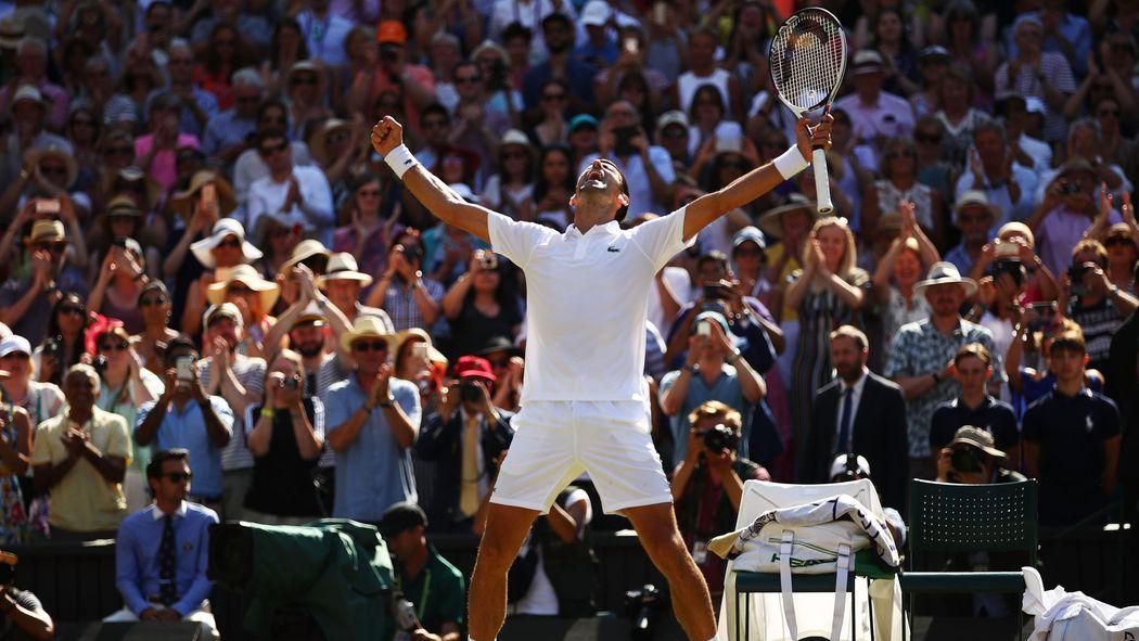 Wimbledon 2018 13 Grand Slam Sieg Djokovic Neuer Rasen König